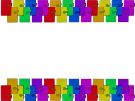 Collection de livres color�s isol� sur fond blanc Banque d'images