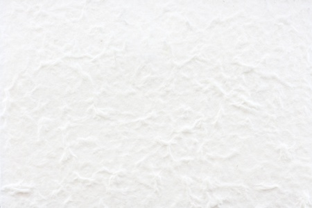 White mulberry paper made by hand Stock Photo