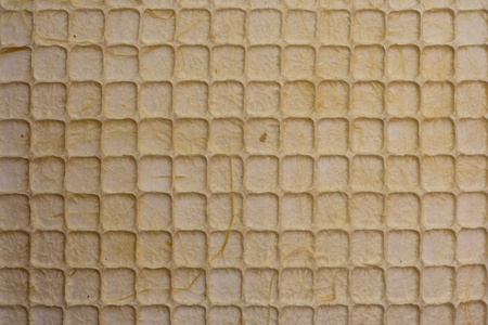 Pattern brown mulberry paper background Stock Photo - 12898637
