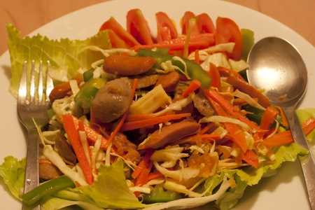 Thai dressed spicy salad