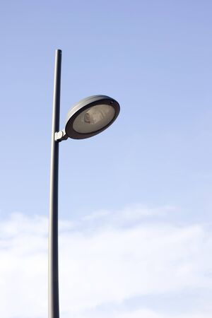 streetlamp: Lamp post on Blue sky ; electricity industry