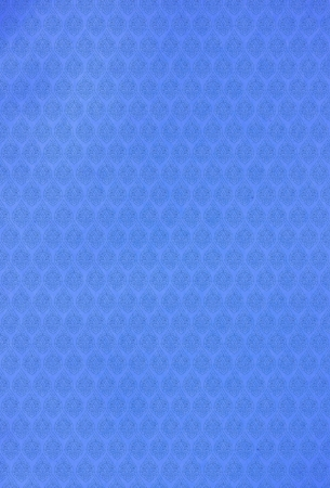 Blue Thai patterns paper background  photo
