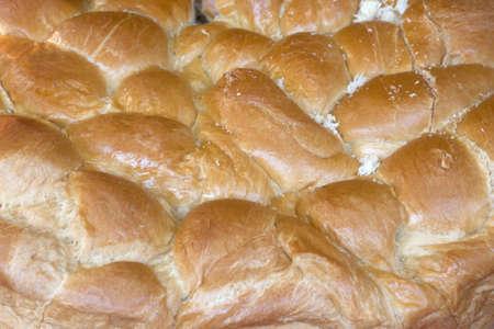 ingest: Big bread close up in France