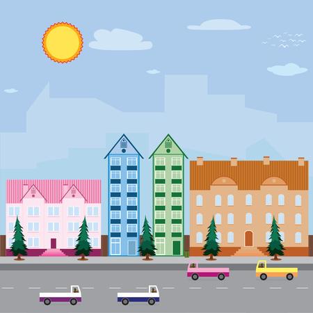 townhouses: Adosados ??en la ciudad.