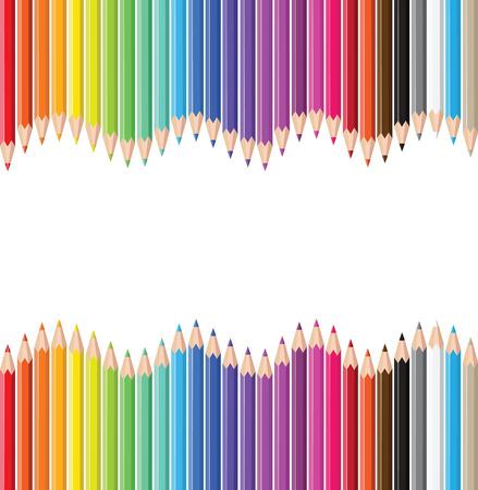 Gekleurde potloden.