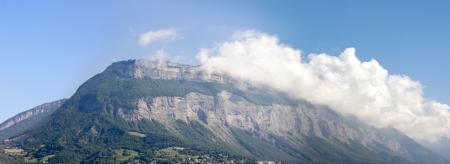 alpes: Panorama Verdon Mountain at Grenoble City  Provence - Alpes, France
