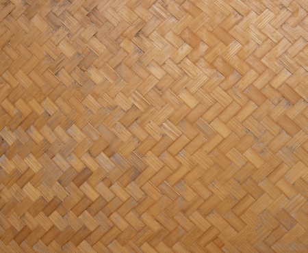 Weave pattern of bamboo texture background   photo