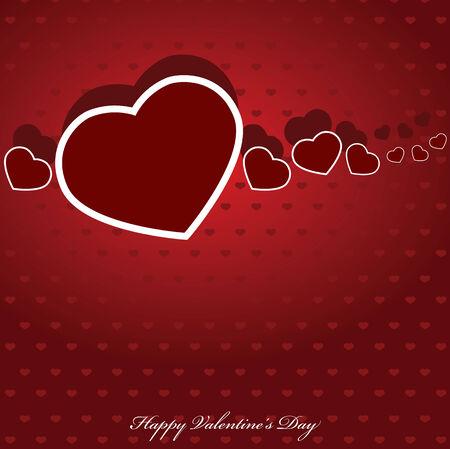 Valentines hearts. Vector illustration.  Illustration