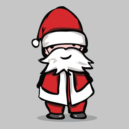 Santa claus, vector illustration.