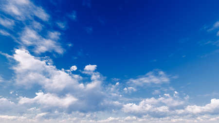 cumulonimbus: Cloudy blue sky abstract background, blue sky background with tiny clouds, 3d illustration Stock Photo