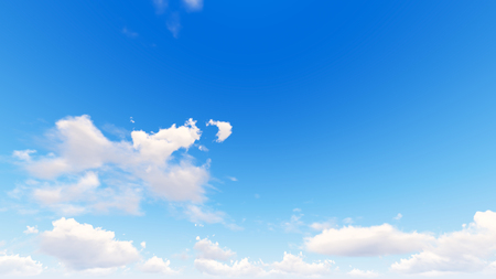 precipitation: Cloudy blue sky abstract background, blue sky background with tiny clouds, 3d illustration Stock Photo