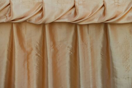 textile texture: yellow curtain background texture, textile background, abstract background