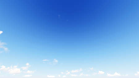 precipitation: Cloudy blue sky abstract background, blue sky background with tiny clouds, 3d rendering