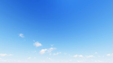 cloudiness: Cloudy blue sky abstract background, blue sky background with tiny clouds, 3d rendering