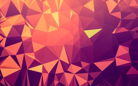 triangular: Abstract low poly background, geometry triangle, mosaic pastel color background