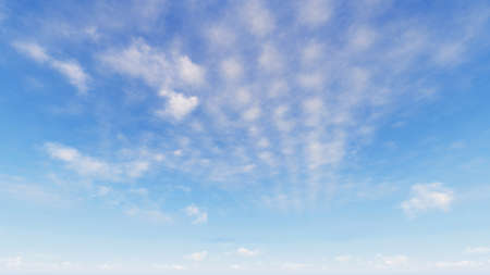 moisture: Cloudy blue sky abstract background, blue sky background with tiny clouds, 3d rendering