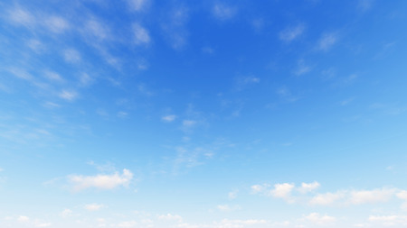 cloud: Cloudy blue sky abstract background, blue sky background with tiny clouds, 3d illustration Stock Photo