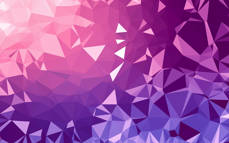 Abstract low poly background, geometry triangle, mosaic pastel color background Stock Photo