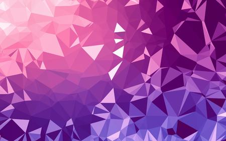 Fondo abstracto de baja poli, triángulo de geometría, fondo de mosaico de color pastel Foto de archivo
