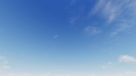 Cloudy blue sky abstract background, blue sky background with tiny clouds, 3d rendering Фото со стока - 130785808