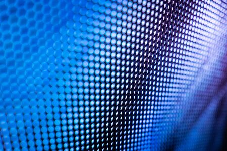 CloseUp LED blurred screen. LED soft focus background. abstract background ideal for design.