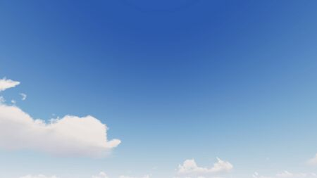 Cloudy blue sky abstract background, blue sky background with tiny clouds, 3d rendering Фото со стока - 139893854