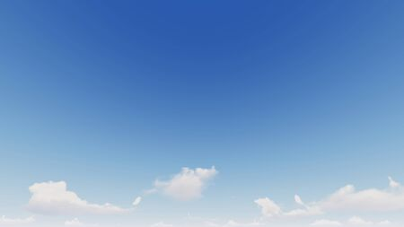 Cloudy blue sky abstract background, blue sky background with tiny clouds, 3d rendering Фото со стока - 139888505