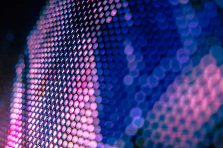 CloseUp LED blurred screen. LED soft focus background. abstract background ideal for design. Stock Photo - 154852937