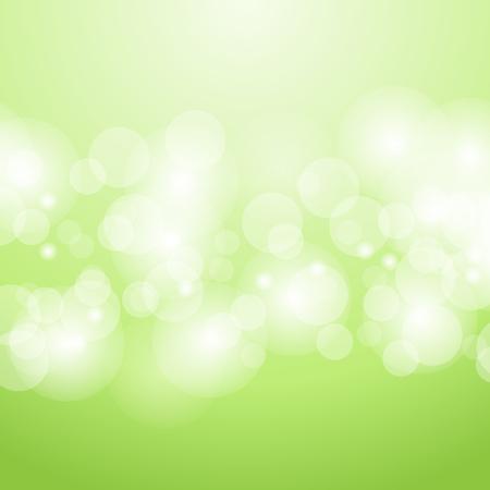 緑のボケ抽象的な背景  イラスト・ベクター素材
