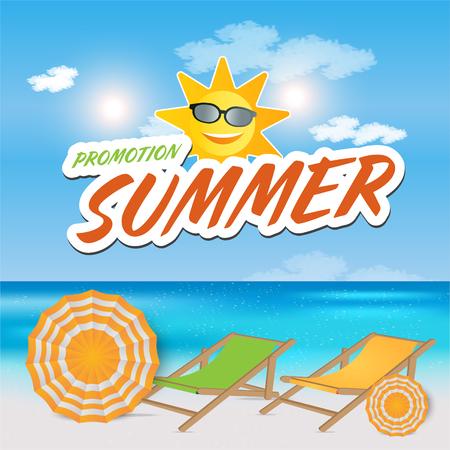End Of Summer Sale banner design template