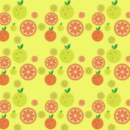 Banner orange hair banner Vector background beautiful tropical summer 矢量图像