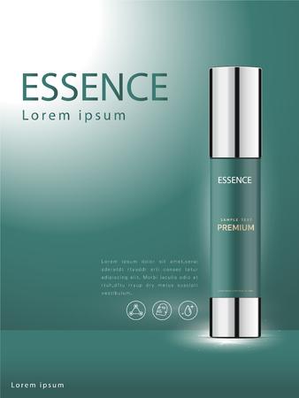 Facial Treatment Essence Skin Care Cosmetic beautiful vector