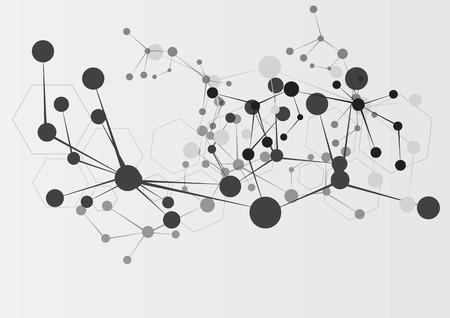 lien: arrière-plan de technologie