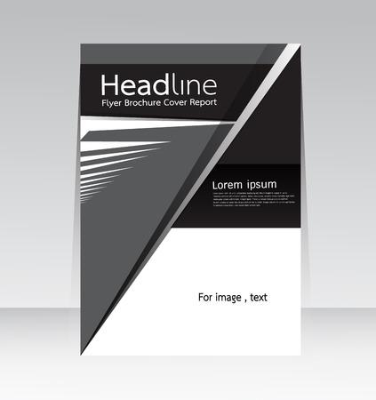 informe: Informe de la cubierta de dise�o abstracto de fondo en tama�o A4