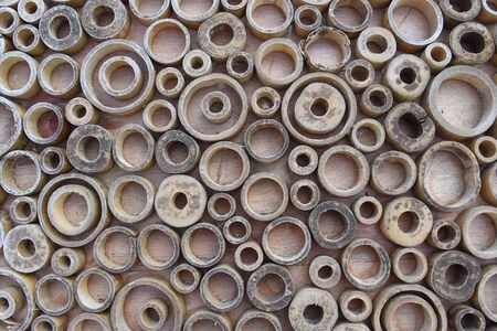 circle objects: Circle wooden rings background