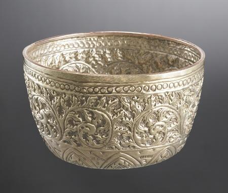 trait: Thai Ancient Bowl Stock Photo
