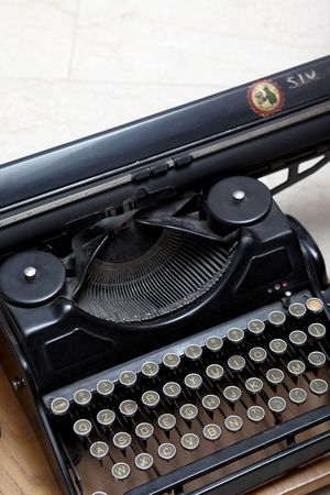 an old american typewriter Stock Photo - 5342145