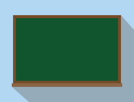 reusable: green board chalkboard isolated reuse and reusable concept vector