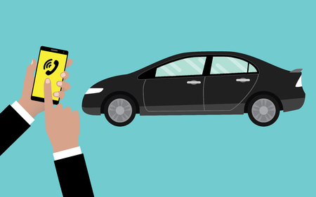 cheaper: call or reserve online car service by using smartphone