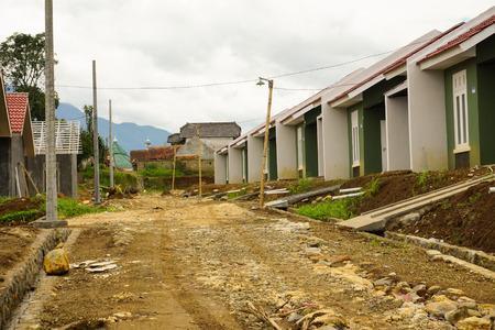 Intermediate housing project in Bogor photo taken in Indonesia