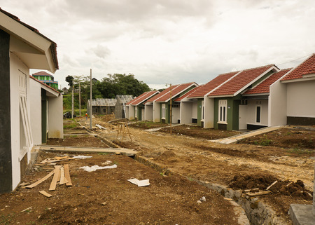 intermediate real estate project photo taken in Bogor Indonesia java