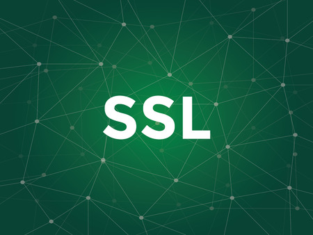 ssl secure socket layer ensures that all data passed between the web server and browsers remain private and integral Illustration