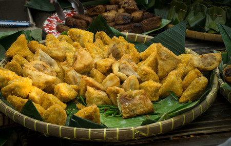 traditional indonesian food asian culinary tahu bakso pekalongan central java