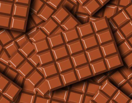 Chocolate bars 免版税图像