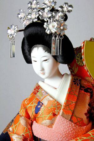 Geisha japanese doll