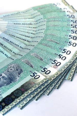 malaysian currency - RM50  Stock Photo - 9415918