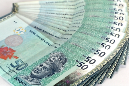 Malaysian Währung - RM50  Standard-Bild - 9415919