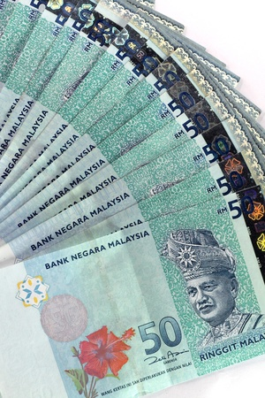 malaysian currency - RM50  photo