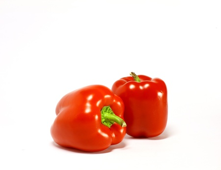 red bell pepper: hot peppers