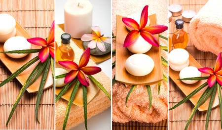 SPA still life collage  Stock Photo - 11597229